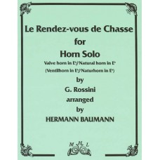 LE RENDEZ-VOUS DE CHASSE for Horn Solo - Digital Download