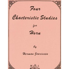 FOUR CHARACTERISTIC STUDIES for Horn - Digital Download