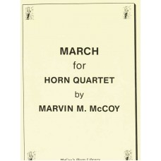 MARCH for Horn Quartet - Digital Download