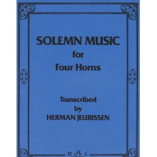 SOLEMN MUSIC for four Horns - Digital Download