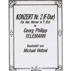 KONZERT Nr. 2 in F MAJOR - Digital Download
