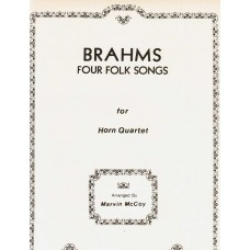 FOUR FOLK SONGS for Horn Quartet - Digital Download