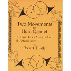 TWO MOVEMENTS for Horn Quartet - Digital Download