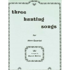THREE HUNTING SONGS for Horn Quartet - Digital Download