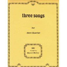 THREE SONGS for Horn Quartet - Digital Download