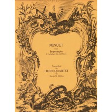 MINUET from IMPROMPTU, Op. 142 #2 - Digital Download