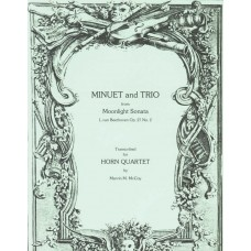 MINUET & TRIO from MOONLIGHT SONATA, Op. 27 #2 - Digital Download