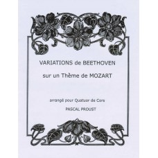 VARIATIONS de BEETHOVEN sur un Theme de MOZART - Digital Download