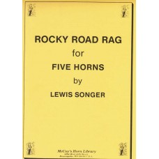 ROCKY ROAD RAG for 5 Horns - Digital Download
