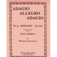 ADAGIO, ALLEGRO, ADAGIO, K. 594 - Digital Download