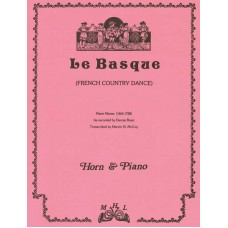 """LE BASQUE"" for Horn & Piano - Digital Download"