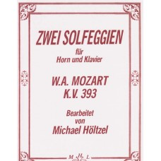 ZWEI SOLFEGGIEN for Horn and Piano, K.V. 393 - Digital Download