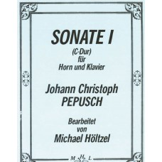 SONATE I (C-Dur) for Horn & Piano  - Digital Download