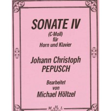 SONATE IV (C-Moll) for Horn & Piano - Digital Download