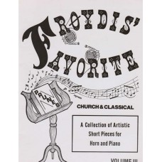 FRØYDIS' FAVORITE PRUNES Volume III for Horn & Piano - Digital Download