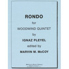 RONDO for Woodwind Quintet - Digital Download