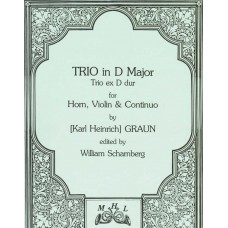 TRIO IN D MAJOR for Horn, Violin & Continuo - Digital Download