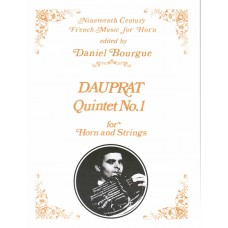 QUINTET NO. 1 for Horn & Strings  - Digital Download