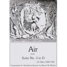 AIR from SUITE #3 IN D  - Digital Download