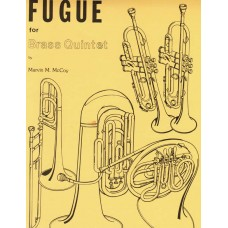 FUGUE for BRASS QUINTET - Digital Download