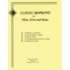 SERENADE FOR FLUTE, HORN AND PIANO - 712E - Digital Download