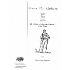 MESSE for Alphorn Solo or Duo in F and Organ - Digital Download