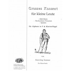 GROSSES KONZERT for Kleine Leute for Alphorn in F and Piano/Organ - Digital Download