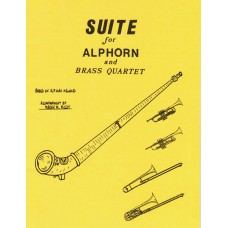SUITE for Alphorn & Brass Quartet (2 Trumpets, 2 Trombones) (Piano Score Included) - Digital Download