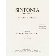 SINFONIA for Alphorn & Strings -Alphorn & Piano Version in F - Digital Download