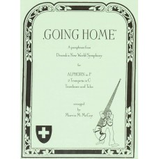 GOING HOME for Solo Alphorn & Brass Quartet (2 Trumpets, Trombone, and Tuba) from New World Symphony - Digital Download